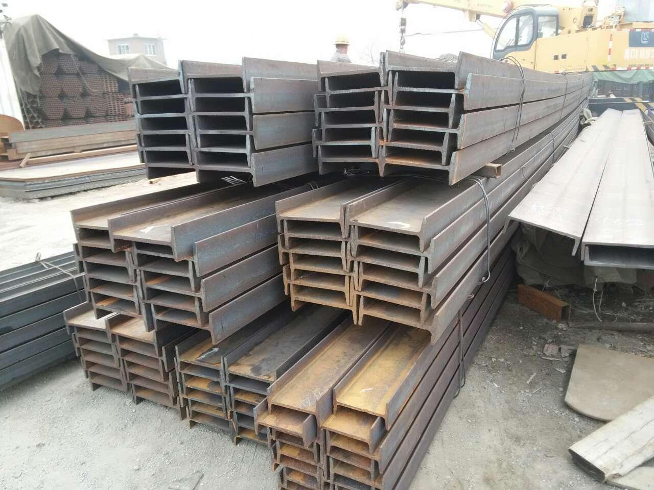 秦皇岛祥林钢材新到大量工字钢